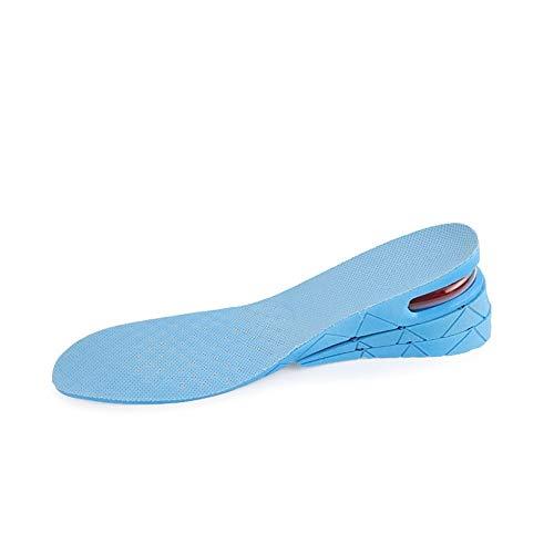 Plantillas Para Zapatos Desodorante Suela Aumento de la altura Ascensor zapatos de la plantilla del amortiguador altura de elevación de corte ajustable de zapatos de tacón Insertar Taller Soporte Abso