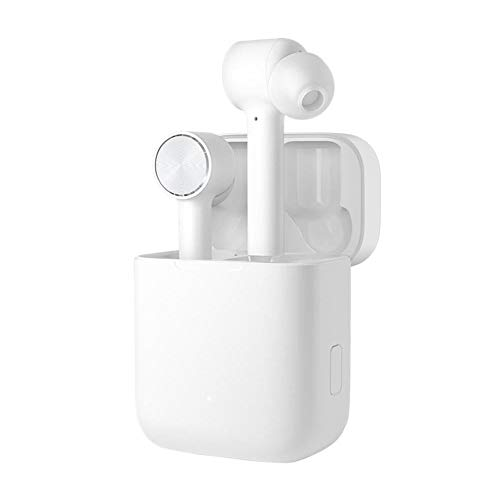 Xiaomi Mi True Wireless Earphones, Auricolari Wireless senza Fili, Design In-Ear con Punte in Silicone, Ricarico USB Type-C, Batteria fino a 10h d'Uso, Bianco [Versione Italiana]