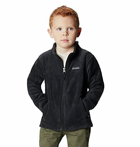 Columbia unisex baby Steens Mt Ii Fleece Jacket, Black, 12-18 Months US