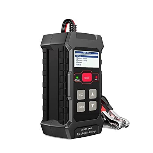 NLKDD Probador de batería de Coches 12V 100-2000CCA Probador automático Completo de batería automático Seco Húmeda de Gel de Gel Herramienta de reparación de ácido