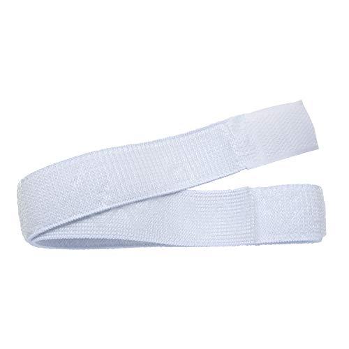 Haltebänder für Urin-Beinbeutel, 1 Paar mit Silikonstreifen und Klettverschluss (1)