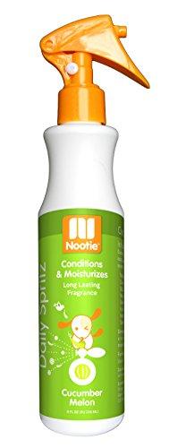 Nootie- Daily Spritz, Pet Conditioning Spray, 1 Unit, 8 oz, Cucumber Melon