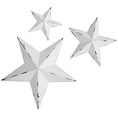 YL Crafts - Metal Star Wall Decoration Mounted Wall Art...