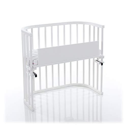 babybay - Bassinet for Baby   Beechwood Baby Bedside Sleeper   Wooden Crib for Babies   Modern Gender Neutral Design   Bassinet Mattress   Co Sleeper for Baby   34.5
