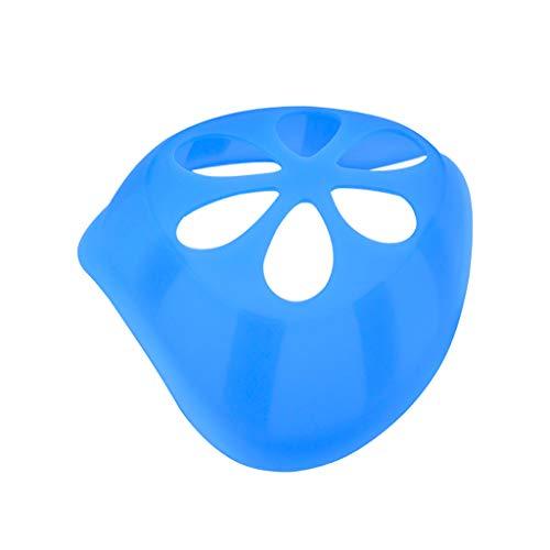 Yowablo 1~50PCS 𝙈𝙖𝙨𝙠𝙚𝙣𝙝𝙖𝙡𝙩𝙚𝙧𝙪𝙣𝙜 3D – Lippenschutz aus hautfreundlichem Silikon Halter Antihaft-Lippenstift 3D-Stützartefakt Anti-Schwüle Dosenklemme (1PCS,1R)