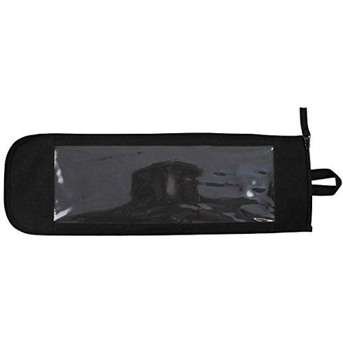 MFH universel Sacoche avec fenêtre Document Housse avec fermeture éclair Porte-documents Housse Noir