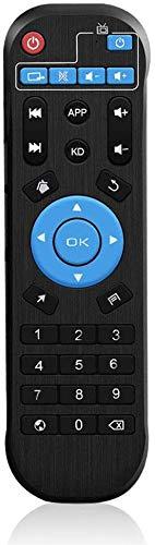 TUREWELL Mando a distancia de repuesto para Android TV Box T9 / T95 / T95 MAX / T95 MAX / Q Plus Box
