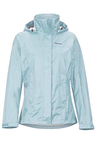 Marmot Damen, PreCip Eco Jacket Hardshell Regenjacke - winddicht wasserdicht atmungsaktiv, Corydalis Blue, M