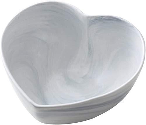 Apparence créative Pâtes Bowls Vaisselle maison Bol Bol à petit déjeuner Déjeuner Dîner Bowl Bowl grand bol de céramique instantané Noodle Bowl Party Family Bowl for plusieurs personnes (Couleur: Blan
