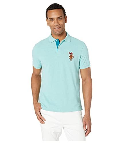 U.S. Polo Assn. Men's Slim Fit Cotton Pique Polo Shirt