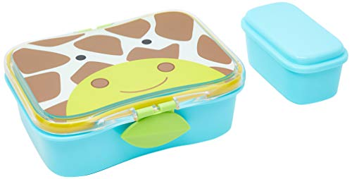 Purchase Skip Hop Baby Zoo Little Kid and Toddler Mealtime Lunch Kit Feeding Set, Multi, Jules Giraf...