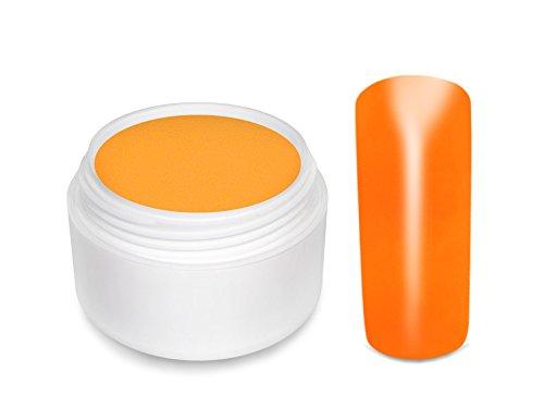 Gel Uv de couleur fluo orange 5 ml