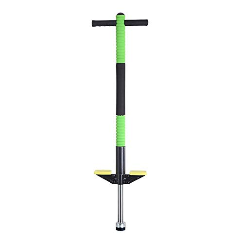 MWY Children Kids Pogo Stick Foam Pogo Stick Jumper, Fun and Safe Pogo Stick for Kids and Adults - Best Gifts for Kids Green