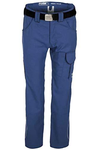 Puma Workwear heren - werkbroek - broek - maat 24-114/Kleur: antraciet of blauw. 28 blauw