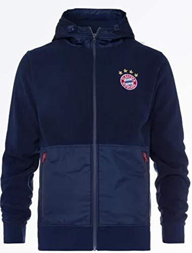 Bayern MÜNCHEN kompatibel Fleecejacke + Sticker München Forever, FCB, Jacke, Kinderjacke (3XL)