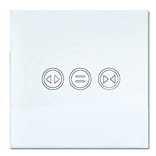 DealMux WiFi Interruptor de cortina inteligente Tuya Smart Life Cortina Persianas Interruptor Persiana enrollable Motor eléctrico-Hogar Alexa Echo Control de voz DIY