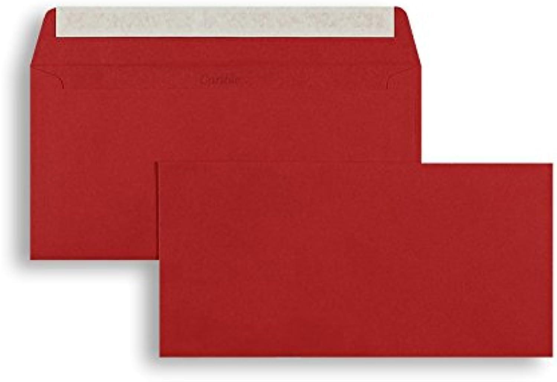 Farbige Briefhüllen   Premium   110 x 220 mm (DIN Lang) Rot (250 Stück) mit Abziehstreifen   Briefhüllen, KuGrüns, CouGrüns, Umschläge mit 2 Jahren Zufriedenheitsgarantie B01CGKDIPU   Deutschland Berlin