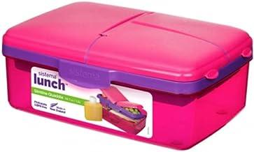 Sistema Lunch Box Kids Quaddie 1.5L - Pink