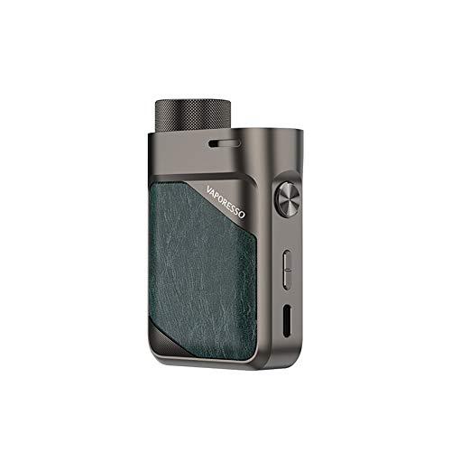 SWAG PX80 Mod (Gunmetal Grey) 80W TC, E Cigarette Vape Mod, alimentation par une seule batterie 18650 (exclue), sans nicotine