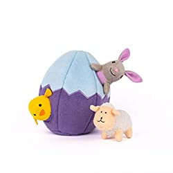 Easter Toys For Dogs - Zippy Paws Holiday Burrow Easter.