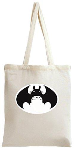 Batman Totoro Tote Bag