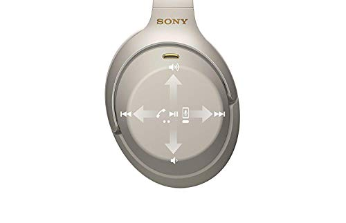 Sony WH1000XM3 Bluetooth Wireless Noise Canceling Headphones Silver WH-1000XM3/S (Renewed) 5