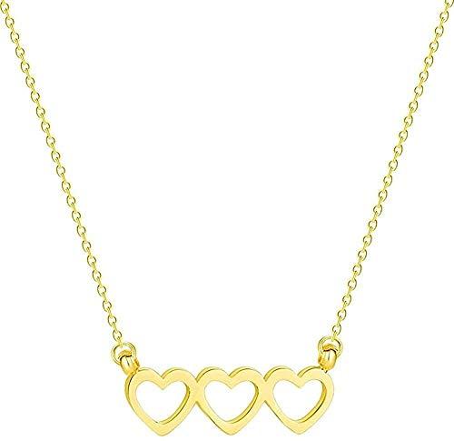 LLJHXZC Collar De Acero Inoxidable con Fase Lunar, Joyería De Galaxia para Mujer, Colgante De Esmalte Lunar con Estrella Fugaz, Collar De Oro, Regalo
