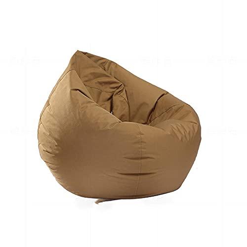 CHRDW Puff Gigante Sofá Perezoso Impermeable Oxford Paño Bolsa De Frijol Gotas De Agua Interior De Ocio Tatami Beanbag (Excluyendo Relleno)-B_75 * 90 Cm