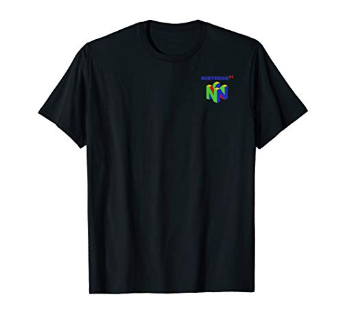 Nintendo 64 Small Logo T-shirt in 5 Colors for Adults and Kids