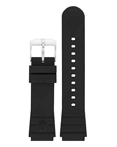 Genuine Luminox Replacement Band/Rubber Strap for Navy Seals Series 3000-21 mm Black