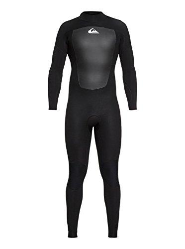 Quiksilver 5/4/3mm Prologue-Traje De Surf con Cremallera En La Espalda para Hombre, Black, S