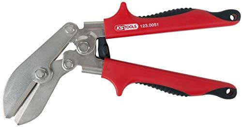KS Tools 123.0051 Rohr-Einziehzange, abgewinkelt, 225 mm