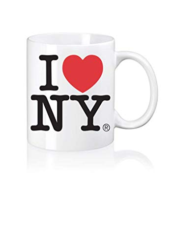 I Love NY Tasse Accessoires I Love New York Souvenirs Kaffeebecher Weiß