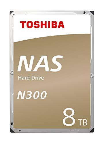 Toshiba N300 hohe Zuverlässigkeit 8TB interne Festplatte (Retail) 3,5-Zoll-SATA - HDWN180EZSTA