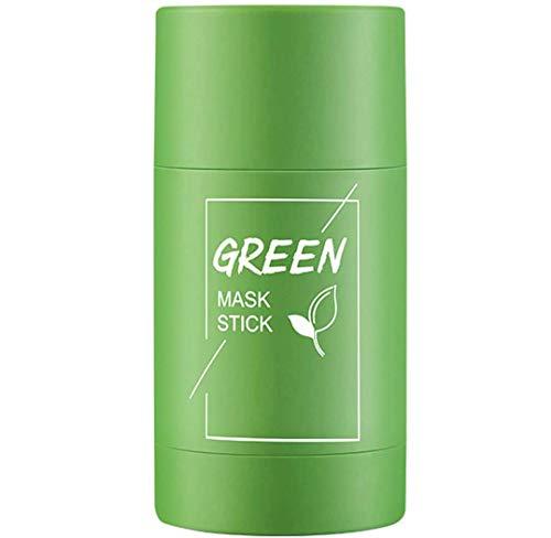 Green Mask Stick, Deep Cleansing Smearing Clay Mask, Removing Blackhead Balancing Oil And Water, Moisturizing Nourishing Skin, 40g