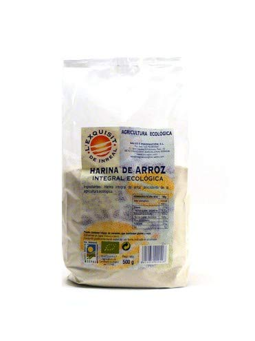 Harina de arroz integral eco, 500g