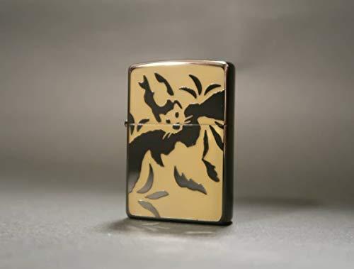 ZIPPO(ジッポー) ライター ジッポ GOLDEN BAT ゴールデンバット 蓄光加工 コウモリ