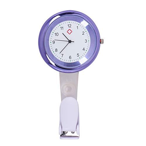 NICERIO Reloj de bolsillo de cuarzo para enfermeras, para cumpleaños, día de la madre, color verde