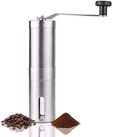 Coffee Grinder Max Miami Mall 64% OFF Manual Conical Ceramic Best Mill Coarse Burr Grin