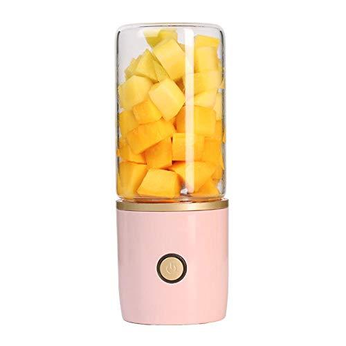 Mini Draagbare Blender, USB Juicer Mixer met RVS Blades & Power Bank Functie voor Reizen Spots Thuis Kantoor en buiten, Perfect voor Baby Foods