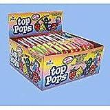 Top Pops Taffy Lollipops Assorted Flavors 48 ct