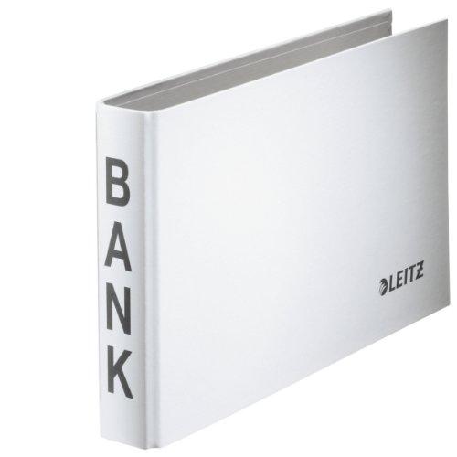 Leitz Bankordner (2-Ringe 20 mm) weiss