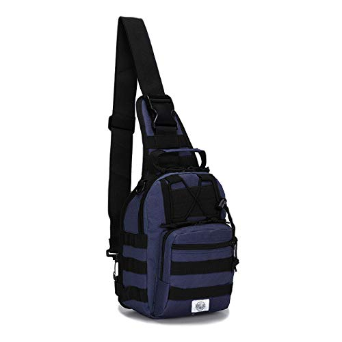 Rootless Tactical MOLLE Military Sling Daypack - Small...