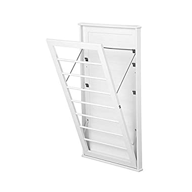Space Saving Wall Mount Drying Rack-Large
