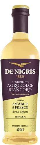 Condimento Agrodolce 'Biancoro' per Insalate, Carne e Pesce   De Nigris 1889