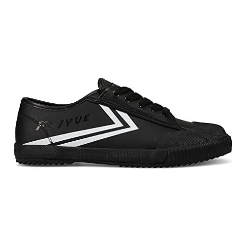 FEIYUE Shoes   Vegan Leather   1920 Fe Lo (Black, Numeric_9)