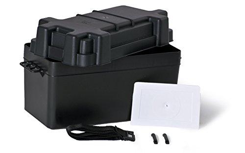 wellenshop Batteriebox mit Deckel bis 120 Ah 404 x 201 x 255 mm