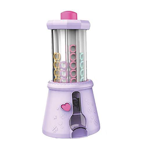 SDLAJOLLA - Máquina de tejer para hacer pulseras, bricolaje, cadena de anillos, collares, multipropósito, máquina de abalorios, juguete divertido y fácil para niñas y niños