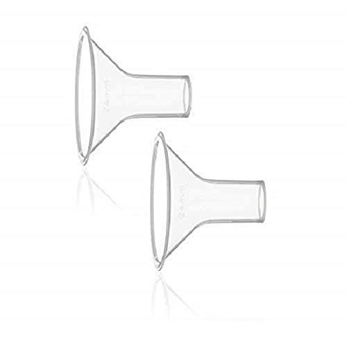 Medela PersonalFit Brusthauben, 2 Stück, Größe S, 21 mm