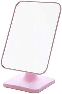 HD Mirror Makeup Mirror Environmental Grade Material Desktop Mirror Does Not Occupy Space Portable Portable Mirror 15x23cm (Color : Pink, Size : 15x23cm) (Color : 15x23cm Pink)